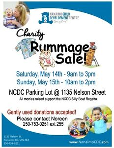Wanted - Gently used items for a Charity Rummage Sale