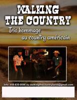 WALKING THE COUNTRY Band Country Pour tout vos événements !!!