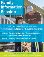 Family Information Session (affordable housing)
