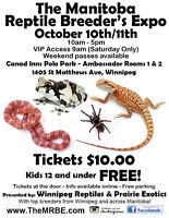 The Manitoba Reptile Breeder's Expo