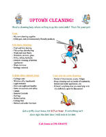 Student Looking For Houses To Clean In Kelowna Area