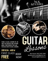 Guitar Lessons Available! (Acoustic & Classical)