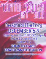 Capital $100 or Less Art Sale - Call for Artists!
