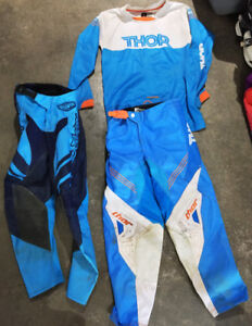 Thor & Troy Lee Youth Dirtbike Pants