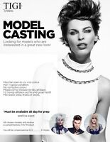 Models Wanted - 4 Female Hair Models Needed Oct 23/24 - $125USD