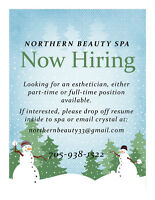 Looking for an Aesthetician