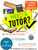 EXPERIENCED TUTOR from $5/H! Grades k-10+FRENCH, IB, AP, ONLINE