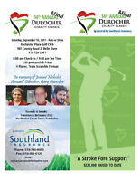 14th Annual & FINAL Durocher Charity Classic
