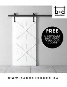New Products Available - Modern Barn Doors + Hardware