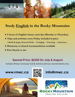 Study English in the Rocky Mountains!
