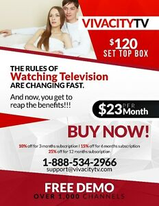 OVER 1,000 CHANNELS FOR ONLY $17/MONTH – IPTV