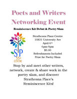 Vendor Opportunity at Poet/Writer Event