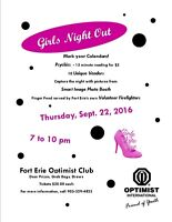 Fort Erie Optimists - 1st Annual Girls Night Out