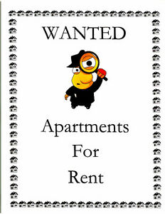 Wanted 1 Bedroom apartment near MUN