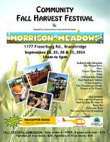 Community Fall Harvest Festival