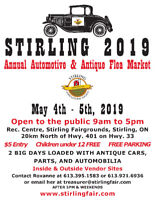 STIRLING AUTOMOTIVE FLEA MARKET 2019 May 4 - May 5, 2019
