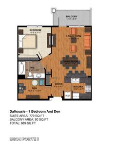 1 Bed + 1 Den for rent! Move in Nov 1st!! one indoor parking!