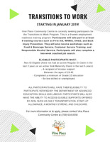 Event- Transitions to Work Program