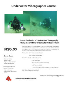 Underwater Videography Courses