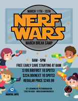 Nerf Wars March Break Camp