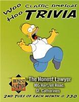 FREE!  Classic Simpsons Trivia Night