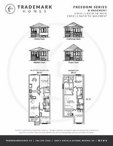 Brand new 2 bed bungalows with full basements, Land in