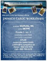 Private Tarot Lessons in person or on Skype