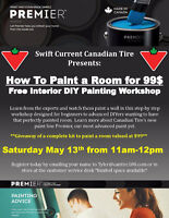 Free-How to Paint a Room for Under $100 workshop