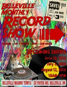 BELLEVILLE RECORD SHOW - JULY 8