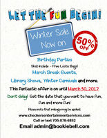 Checkers Entertainment Yearly Winter Promo