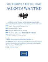 Licensed Real Estate Agents- WANTED