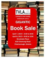 Gigantic Book Sale at TVLA