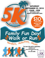 5K At The Bay - Register for the Walk!