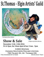 St Thomas Elgin Artists Guild 10th Annual Show & Sale
