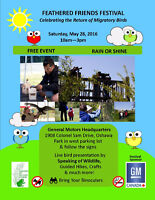 Feathered Friends Festival - 3rd Annual - FREE