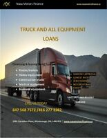 TRUCK AND HEAVY EQUIPMENT FINANCE 416-277-2382
