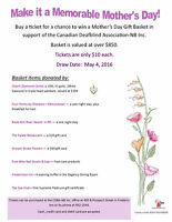 MOTHER'S DAY BASKET TICKETS