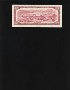 """Billet de Banque $1000 """"uncirculated """"1954"""