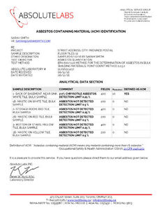 TestItToday.ca - Test for Asbestos - DIY mail-in test North Shore Greater Vancouver Area image 3