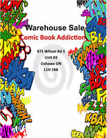 Warehouse Sale at COMIC BOOK ADDICTION - March 11, 9 am to 4 pm