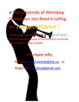 Looking for trumpet players