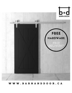 Furniture Sale - Solid Core Barn Doors - OPEN BOX CLEAR OUT