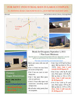 Commercial / Light industrial Bay for Rent
