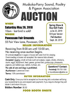 MPSPPA Spring Auction - Saturday May 26, 2018