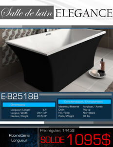 SALE! 13 Freestanding Bathtubs At Less Than $995, New