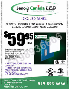 *LED PANEL LIGHTS - Commercial Drop Ceiling 2x2 & 2x4 LED Panels