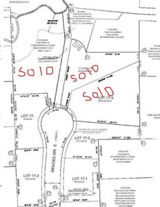 Residential one acre lots for sale