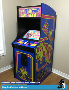 Home Arcade Full Size Cabinet with 12,136 games & Warranty-New