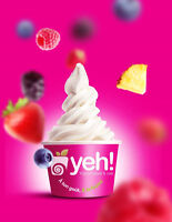 YEH yogurt glace need part time employ