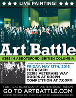 Art Battle 398 - Abbotsford